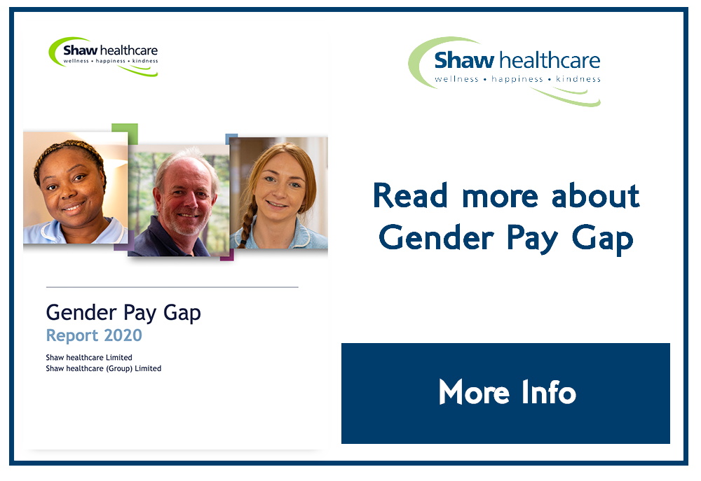 Shaw Coporate GenderPayGap