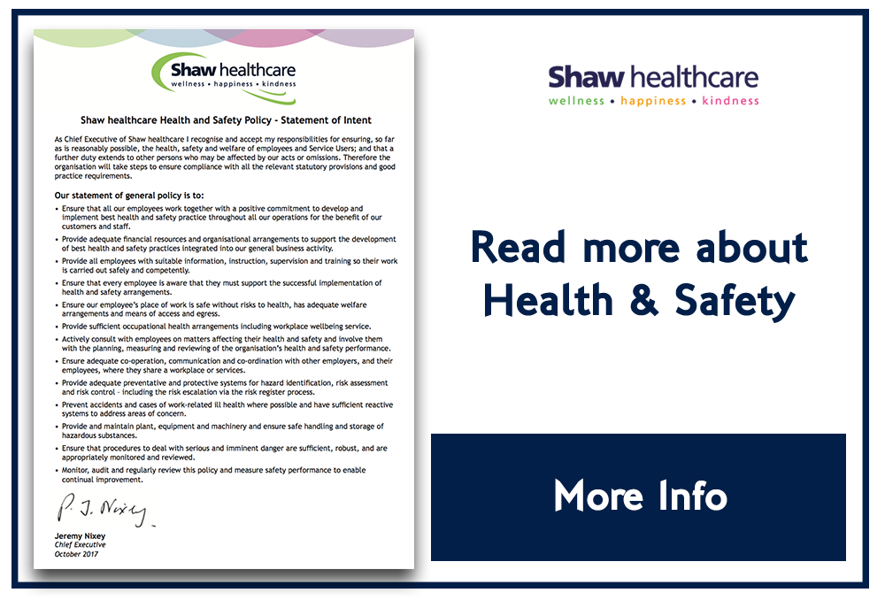 Shaw Coporate Health Safety