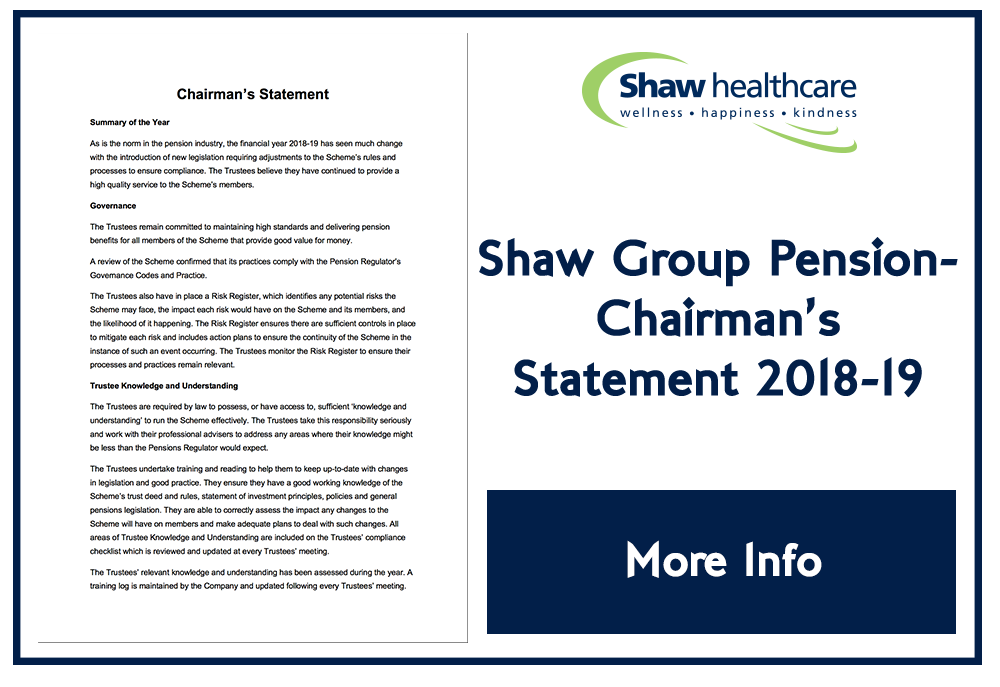 Shaw Coporate chairman01