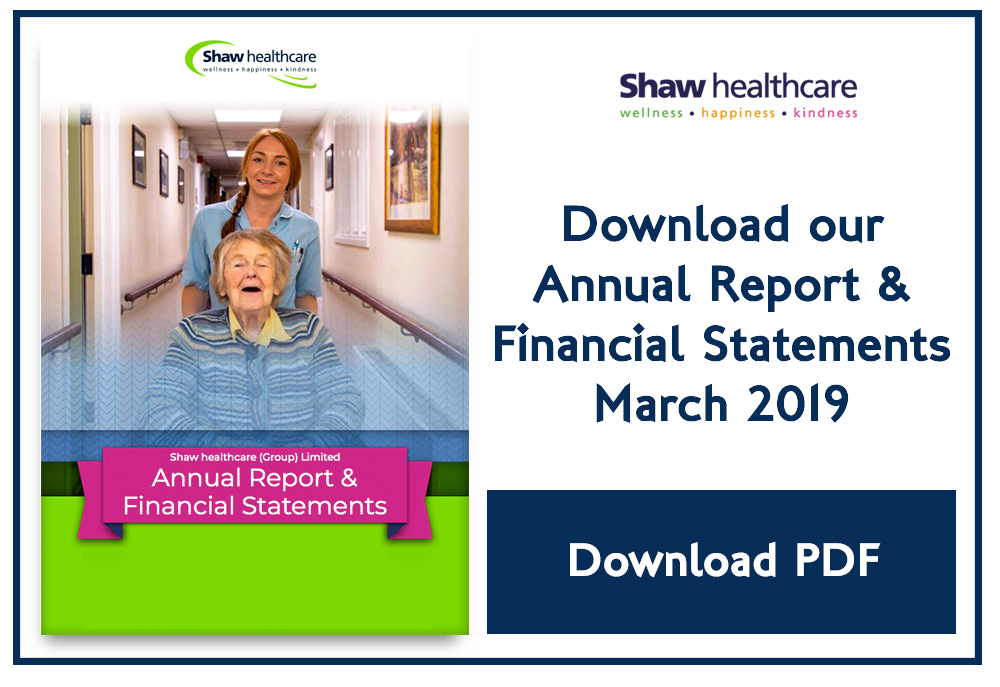 Shaw financial reports March 2019