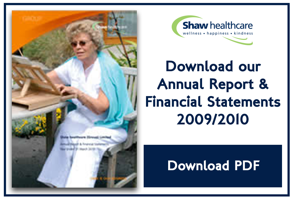 Shaw pdf financial reports 2010