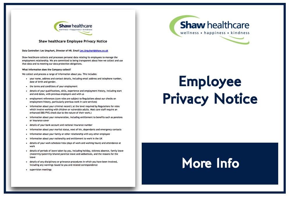 Shay Employee Privacy Notice